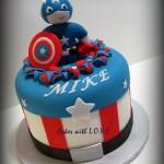 The Avenger Cakes